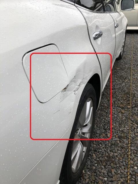 常陸大宮市 自動車ヘコミ修理