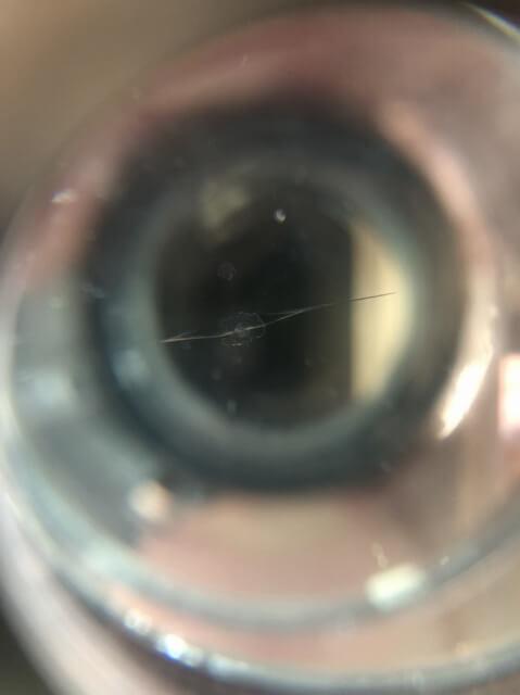 茨城県常陸大宮市 フロントガラス 飛び石 修理